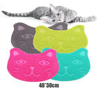 Pets Mat Toilet Pad Paw Cat Face Design Dog Sleeping Placemat Easy Cleaning Pads
