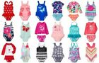 Внешний вид - NWT Gymboree Swim Shop Toddler Girl Rash Guard Tankini Swimsuit 6-12month to 5T