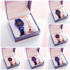 Women Luxury Starry Sky Masonry Watch Magnet Strap Buckle Stainless Watch image