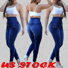 Women Skinny Jeggings Stretchy Denim Pants Casual Leggings Jeans Pencil Trousers