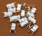 20-100pcs PCB Soldering Mount 5x20 5mm 20mm Fuse Holder Clip Tin Plated Brass