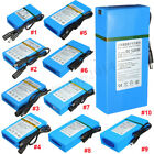 1800-20000mAh DC 12V Li-ion Battery Rechargeable Protable Power for CCTV Camera