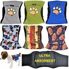Внешний вид - LEAK PROOF Male Dog Diapers Belly Band Wrap Washable ULTRA ABSORBENT Small Large