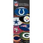 10 Pack of Officially Licensed NFL Football Shape Stickers - Pick Your Team!