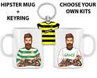 Personalised Football Mug And Keyring Gift Pack  Special Offer This Week Only