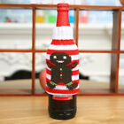 Christmas Wine Bottle Cover Bags Dinner Table Home Party Decor Sknowman Elk QS