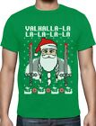 Valahalla Mythology Viking Nordic God Ugly Christmas Sweater T-Shirt Holiday