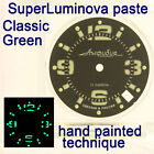 WATCHES-PARTS: HAND PAINTED SUPERLUMIA  903 DIAL VOSTOK AMPHIBIA 3 KINDS OF LUME image
