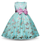 New Flower Girl Princess Dress Baby Kid Party Wedding Birthday Formal Tutu Gowns