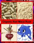 RED Maca Root Pure Vegetarian Organic Sourced Capsules - Natural HRT Alternative