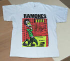 Vintage The Ramones t-shirt I Wanne Be Well white tee hardcore punk rock reprint image