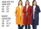 BIG WOMENS PLUS SIZE KNIT LONG SLEEVE SWEATER TUNIC DRESS MAXI COAT CARDIGAN