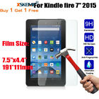 2X Tempered Glass Screen Protector Film For Amazon Kindle Fire 7/ HD 8 2017 2018