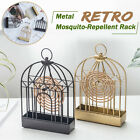 Retro Iron Mosquito Coils Holder Rack Strider Bug Repellant Home Camping Outdoor