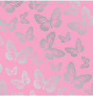 Silver Butterflies Adhesive Vinyl & HTV Sheets
