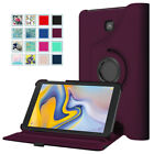 For Samsung Galaxy Tab A 8-Inch Tablet Case Swivel Cover Stand Multiple Angles