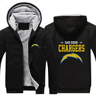 San Diego Chargers Fans Hoodie Unisex Fleece Coat winter Jacket warm Sweatshirt $37.99 USD on eBay