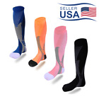 Внешний вид - 30-40 mmhg Over Knee High Compression Socks Running Sport Long Scokings