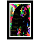 Bob Marley Quotes Poster Large Mural Print Wall Art Reggae Legend up to 24