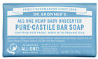 Dr. Bronner's All-One Hemp UNSCENTED Pure Castile Soap-5 oz *Special Low Price*