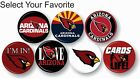 "Arizona Cardinals NFL Pin Pinback Button 1 .25"" Collectible Sport Hat Accessory on eBay"