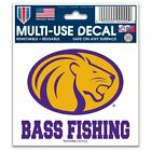 "North Alabama Lions Official NCAA 3"" x 4"" Automotive Car Decal 3x4 b ..."