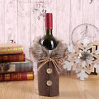 US Merry Christmas Wine Bottle Bag Cover Xmas Dinner Party Table Decor Gift