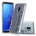 For Samsung Galaxy Note 9/S9 S8+ Slim Silicone 3D Clear Painted TPU Case Cover