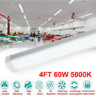 4Ft. Commercial 60w LED Linkable Shop Light Factory Warehouse Light Fixture VIP