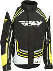 Fly Racing SNX Pro Jacket Youth-MD Black/White/Hi Vis 470-4024YM
