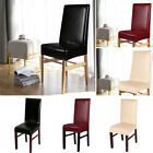 PU Leather Chair Cover Elastic Soft Protector Stretch Slipcover Home Decoration