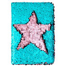 Mermaid Sequins Diary Notebook Paper Glitter A6 Journal Writing Book Reversible