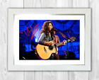 Katie Melua (2) A4 reproduction signed photograph poster. Choice of frame
