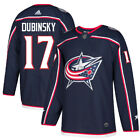 17 Brandon Dubinsky Jersey Columbus Blue Jackets Home Adidas Authentic