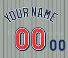 Los Angeles Angels of Anaheim Customized Number kit for 1997-2001 Gray Jersey