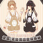 Anime Totoro No Face man Cute Suspender Trousers Tops Jumpsuit Shorts Costume