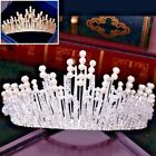 New Bridal Tiara Crystal Pearl Vintage Silver and Gold Wedding Hair Accessories