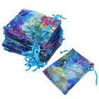 50/100/200 Sheer Coralline Organza Favor Gift Bags Jewelry Pouches Wedding Party