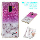 For Samsung Galaxy J4/J6 Plus Marble Pattern Silicone TPU Soft Phone Case Cover