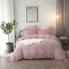Egyptian Comfort 1800 Count 3 Piece Deep Pocket Duvet Cover Set Queen King Size