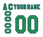 Hartford Whalers 1985 1992 White Hockey Jersey Customized Number Kit un stitched