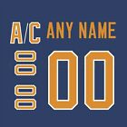 Buffalo Sabres 1983-96 Blue Jersey Customized Number Kit un-stitched $34.99 USD on eBay