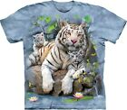 The Mountain Unisex Adult White Tigers Of Bengal Zoo T Shirt