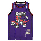 M & N Toronto Raptors Vince Carter (Youth) #15 Rd HWC Swingman Jersey (1998-99) on eBay