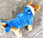 Blue Shark Style Pet Dogs Cosplay Coat Dog Costume Clothes Pet Coat