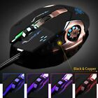 6 Buttons 3200 DPI LED Mechanical Wired PRO Gamer Gaming Mouse For PC Laptop DN