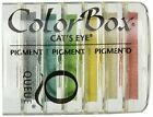 Clearsnap ColorBox Cat's Eye Queue Pigment Inkpads 6/Package, Basics