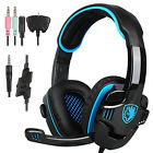 SADES SA-708 GT Gaming Headset Stereo Headphone for Xbox One PS4 PC Laptop W/Mic