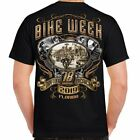 T Shirt Bike Week Daytona 2019 Main Stree Biker Tattoo Skull Motorcycle n Harley image