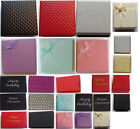 Single gift box for earrings, pendants, cufflinks, rings and brooches, Christmas